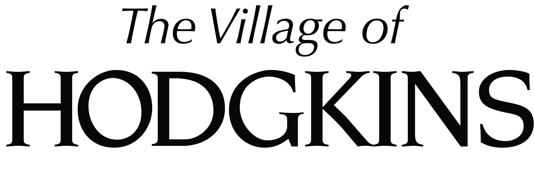Village of Hodgkins logo